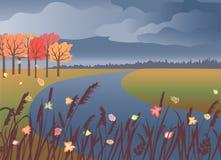 Autumn Landscape Imagem de Stock