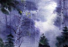 Autumn Landscape stock illustratie