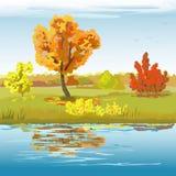 Autumn Landscape Fotografía de archivo