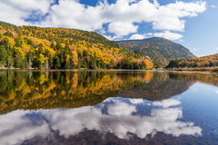 Free Autumn Landscape And Reflection In White Mountain National Forest, New  Hampshire Royalty Free Stock Images - 63689449