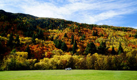 Autumn landscape of Arrowtown Royalty Free Stock Photo
