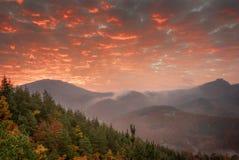 Autumn landscape at Belintash sanctuary, Rhodope Mountains, Bulgaria Royalty Free Stock Photos