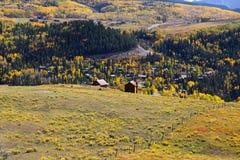 Autumn landscape in Colorado Royalty Free Stock Photo