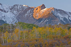 Autumn San Juan Mountains Stock Photography