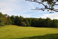 Autumn Landscape en Austria Fotografía de archivo