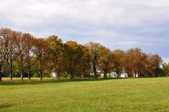Autumn Landscape en Austria Imagenes de archivo