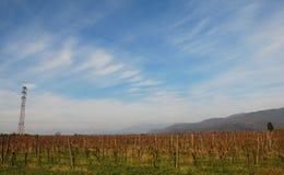 Autumn Landscape in Friuli Stock Photo