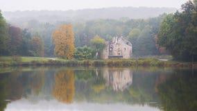 Autumn Landscape in het bos van Montmorency Royalty-vrije Stock Foto