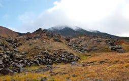 Autumn landscape on Kamchatka Royalty Free Stock Photos