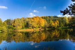 Autumn landscape of lake Royalty Free Stock Image