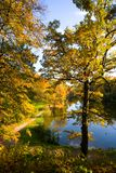 Autumn landscape of lake Stock Photo