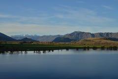 Autumn landscape, Lake Wanaka Royalty Free Stock Photo