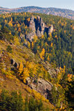 Autumn landscape of the mountain Royalty Free Stock Photography