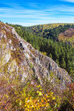 Autumn landscape in the mountains of Berd. Siberia, Russia Stock Photos