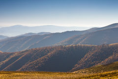 Autumn landscape in the mountains. Royalty Free Stock Images