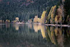 Autumn landscape in the mountains.Nature Background Stock Photos