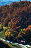 Autumn landscape in the mountains Royalty Free Stock Photography
