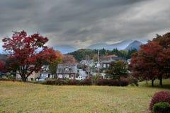 Autumn landscape in Nikko, Japan Stock Image