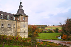 Autumn landscape with old Castle Royalty Free Stock Photos