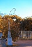 Autumn landscape in Pavlovsk Stock Photo