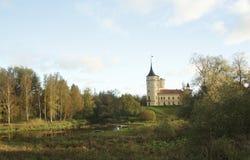 Autumn landscape in Pavlovsk Stock Images
