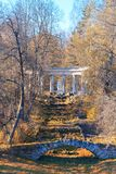 Autumn landscape in Pavlovsk Royalty Free Stock Photography