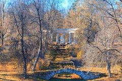 Autumn landscape in Pavlovsk Stock Photos