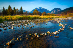Autumn landscape in Pieniny, Slovakia Royalty Free Stock Photography