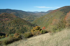 Autumn landscape in Pyrenees, France Royalty Free Stock Photos