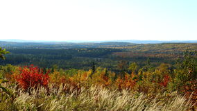 Autumn landscape of Quebec. Canada Royalty Free Stock Images