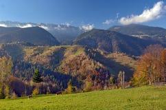 Autumn landscape in Romania Stock Images
