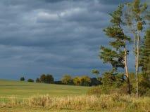 Autumn landscape, southern Bohemia. Czech Republic Royalty Free Stock Photo