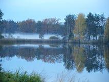 Autumn landscape, southern Bohemia. Czech Republic Stock Photo