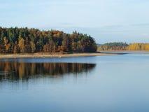Autumn landscape, southern Bohemia. Czech Republic Stock Image