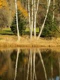 Autumn landscape, southern Bohemia. Czech Republic Royalty Free Stock Images
