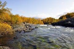 Autumn landscape in Sweden Stock Image
