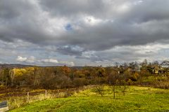 The autumn landscape . Royalty Free Stock Image