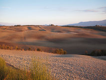 Autumn landscape in Tuscany Stock Photos