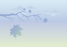 Autumn landscape vector Royalty Free Stock Photography