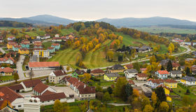Autumn landscape of Weitra, Austria Stock Photos