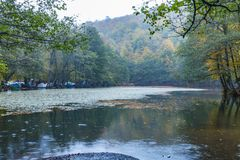 Yedigoller National Park. Beautiful, bolu. royalty free stock image