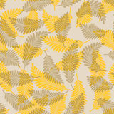 Autumn leaves. Seamless pattern from  autumn leaves(can be repeated and scaled in any size Royalty Free Stock Photography
