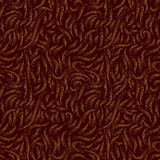 Autumn Leaves Abstract patroon in bruine kleuren vector illustratie