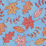 Autumn Leaves Background illustration de vecteur