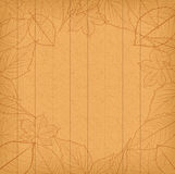 Autumn leaves background retro Royalty Free Stock Photography