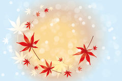 Autumn leaves background - Stock Illustration. Autumn leaves background with place for text stock illustration