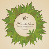 Autumn leaves banner Stock Photo