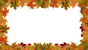 Free Autumn Leaves Border Royalty Free Stock Images - 60517819