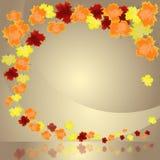 Autumn Leaves Border vector illustratie