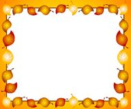 Autumn Leaves Border or Frame Stock Photos